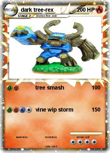 Pokemon dark tree-rex