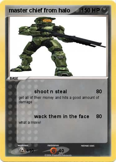 Pokemon master chief from halo