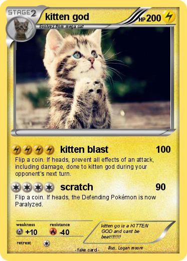 Pokemon kitten god