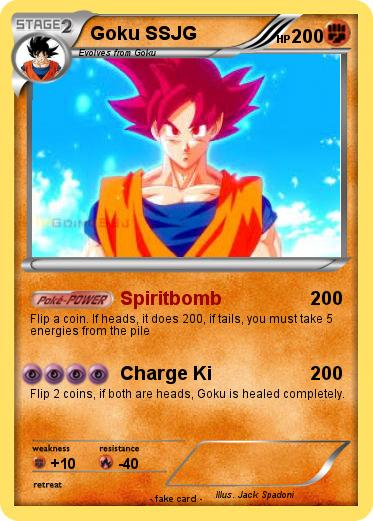 Pokemon Goku SSJG