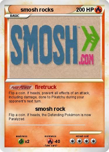 Pokemon smosh rocks