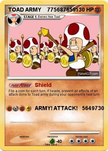 Pokemon TOAD ARMY    775687659