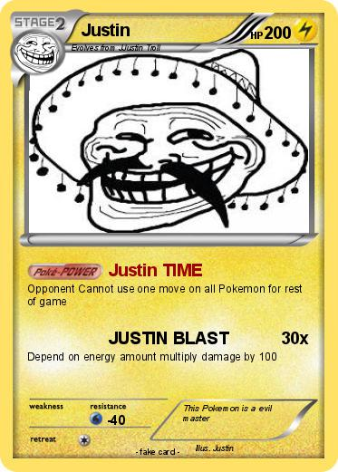Pokemon Justin