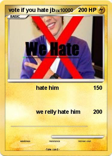 Pokemon vote if you hate jb