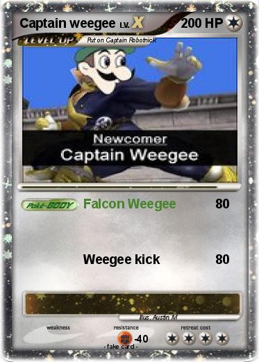 Pokemon Captain weegee