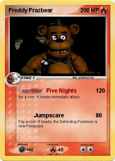 Pokemon Freddy Frazbear