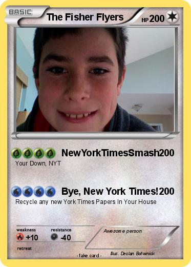 Pokemon The Fisher Flyers