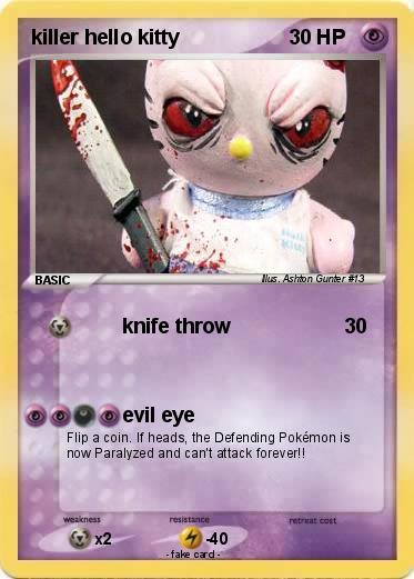 Pokemon killer hello kitty