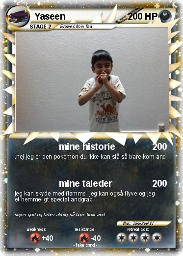 Pokemon Yaseen