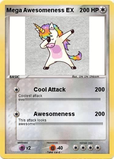 Pokemon Mega Awesomeness EX