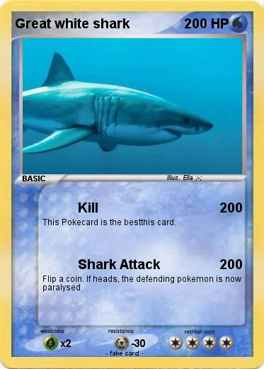 Pokemon Great white shark