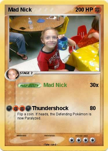 Pokemon Mad Nick
