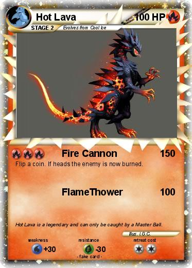 Pokemon Hot Lava