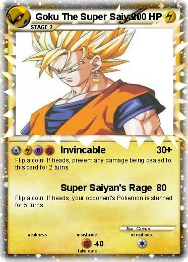 Pokemon Goku The Super Saiyan