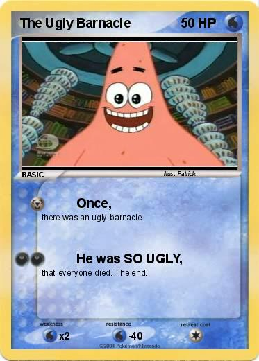 Pokemon The Ugly Barnacle