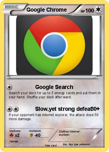 Pokemon Google Chrome