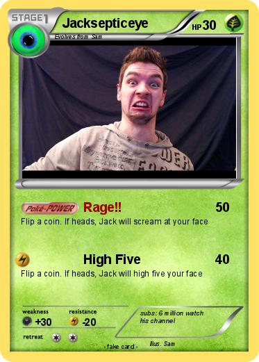 Pokemon Jacksepticeye