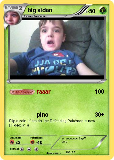 Pokemon big aidan