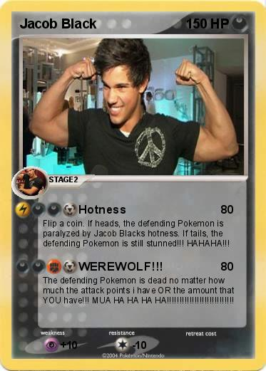 Pokemon Jacob Black