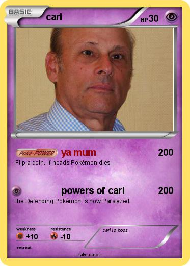 Pokemon carl