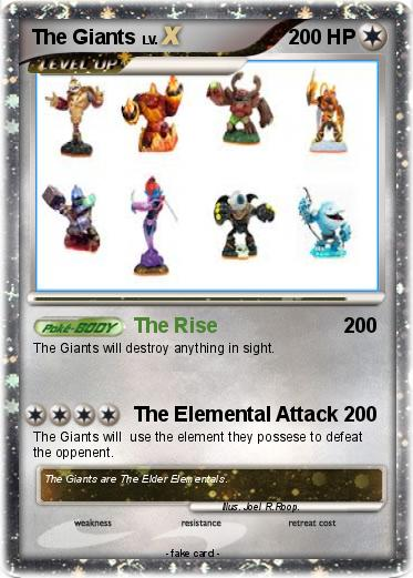Pokemon The Giants