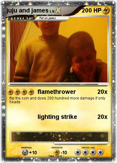 Pokemon juju and james
