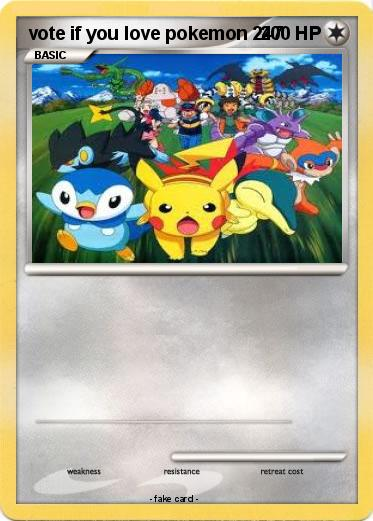 Pokemon vote if you love pokemon 247