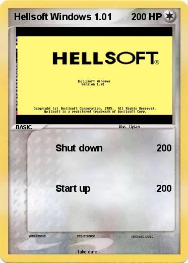 Pokemon Hellsoft Windows 1.01
