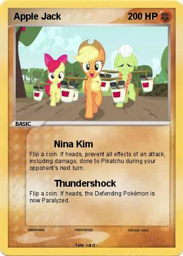 Pokemon Apple Jack