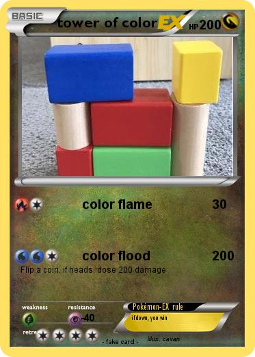 Pokemon tower of color