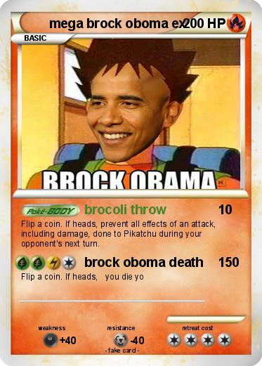 Pokemon mega brock oboma ex