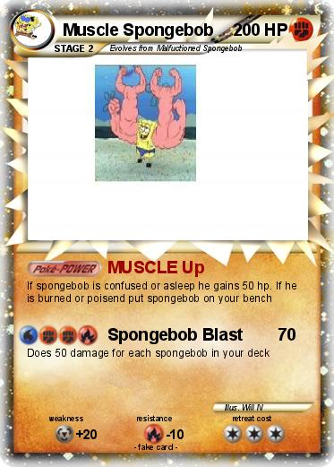 Pokemon Muscle Spongebob