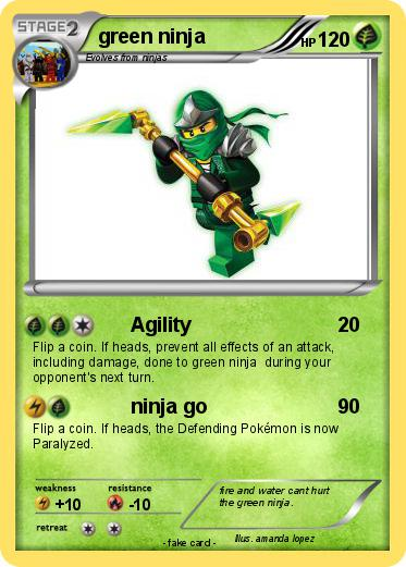 Pokemon green ninja