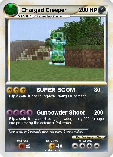Pokemon Charged Creeper