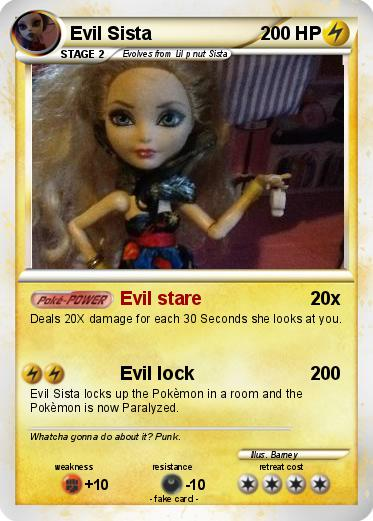 Pokemon Evil Sista