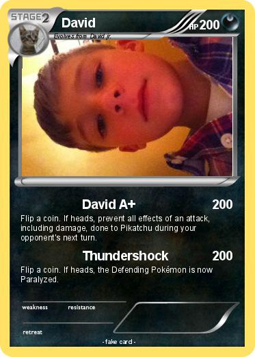 Pokemon David