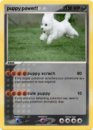 Pokemon puppy power!!