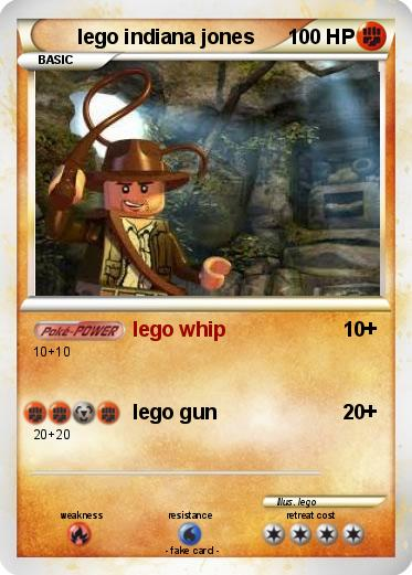 Pokemon lego indiana jones