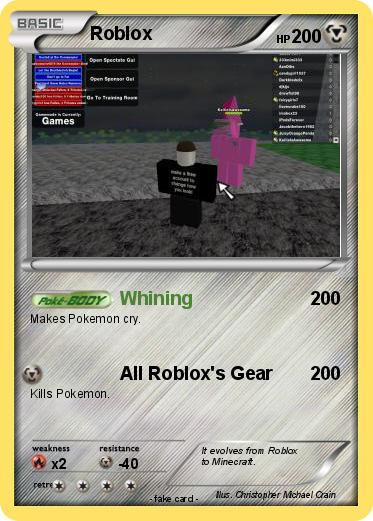 Pokemon Roblox