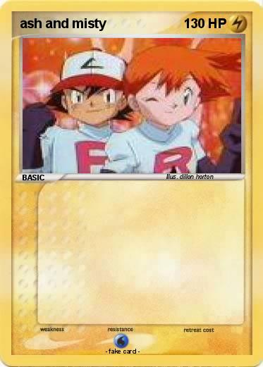 Pokemon ash and misty