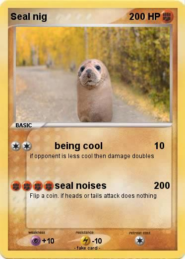 Pokemon Seal nig