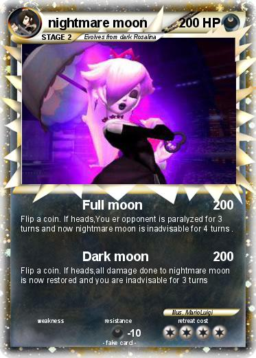 Pokemon nightmare moon
