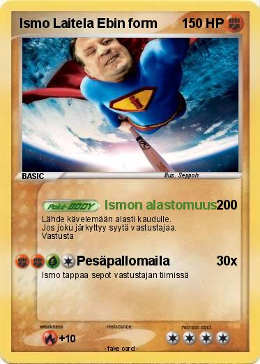 Pokemon Ismo Laitela Ebin form