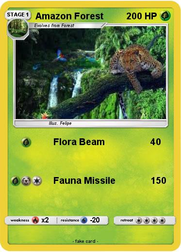 Pokemon Amazon Forest