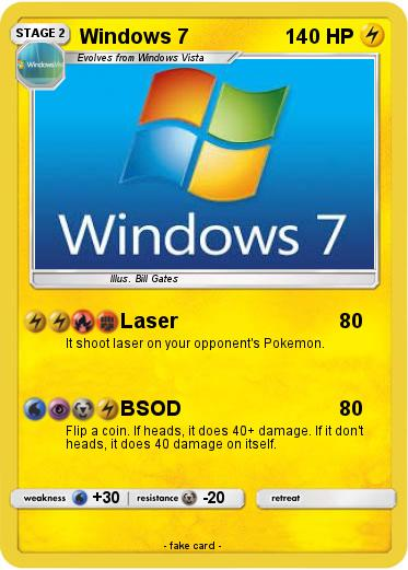 Pokemon Windows 7
