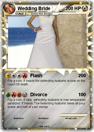 Pokemon Wedding Bride