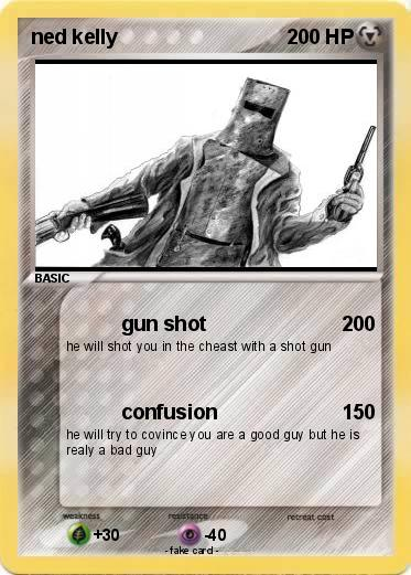 Pokemon ned kelly