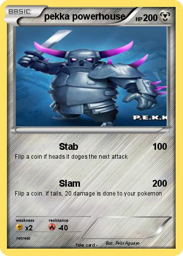 Pokemon pekka powerhouse