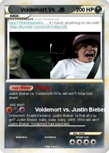 Pokemon Voldemort Vs. JB