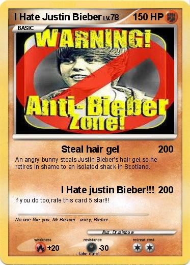 Pokemon I Hate Justin Bieber